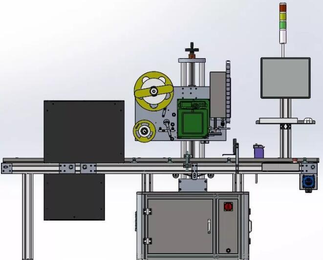 全自动贴标机的系统介绍