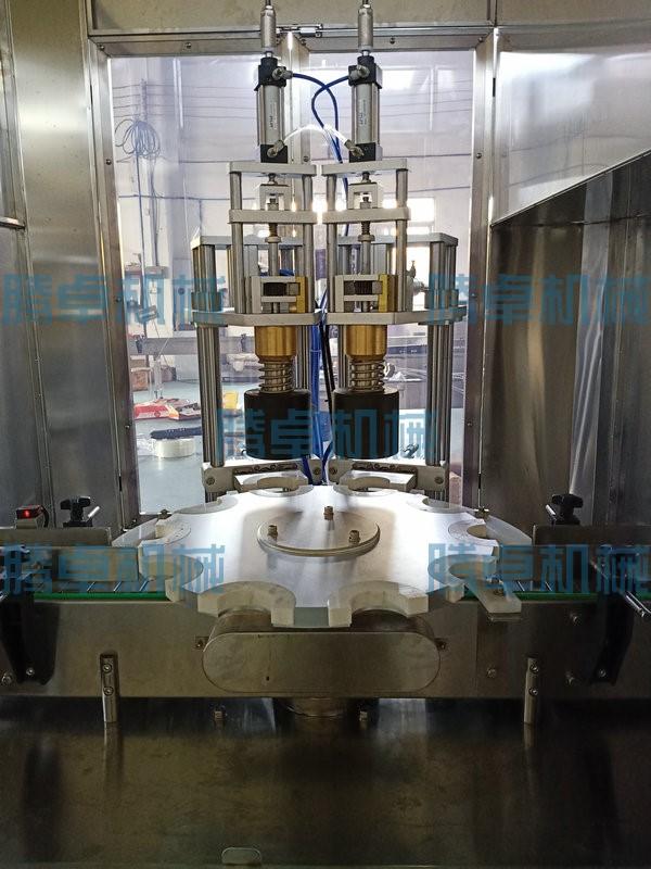 半自动异形瓶灌装旋盖机