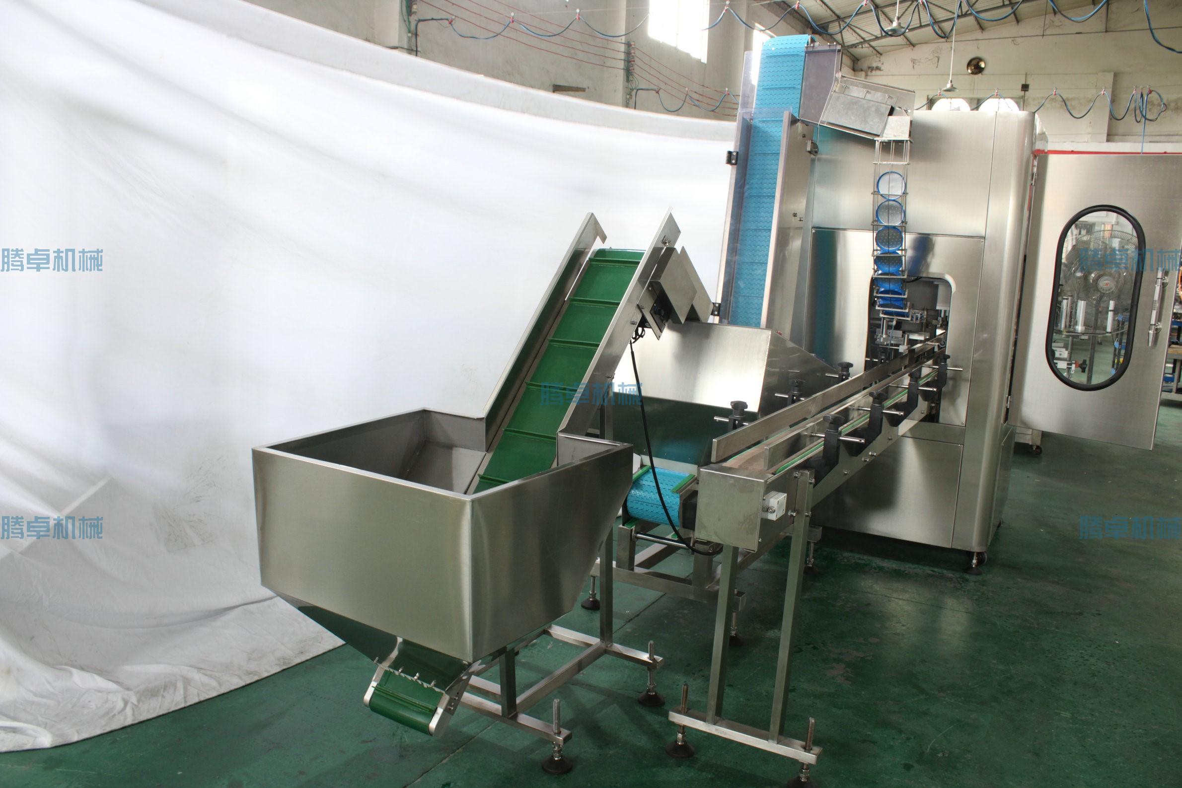 自动灌装旋盖机灌装粉末的程序操作及应用